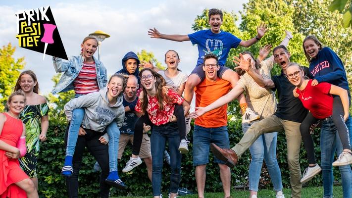 BEAM doet mee aan #PrikPositief: positiviteit verspreiden door heel Nederland. Doe je mee?
