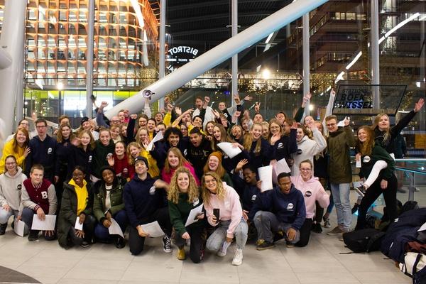 BEAM organiseert grootste tikkertje van Nederland: ruim 700 deelnemers!!