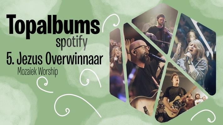 Album 'Jezus Overwinnaar' in Top-10 van iTunes