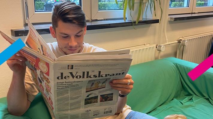 """Joram: """"Ik consumeerde geen nieuws meer, het nieuws consumeerde mij"""""""