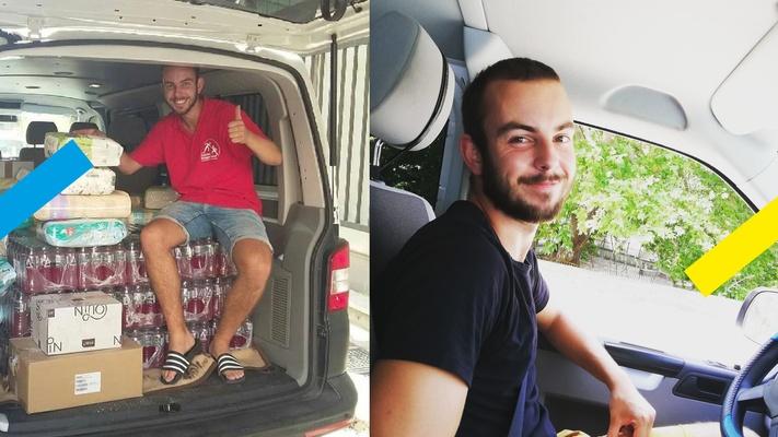 """William helpt vluchtelingen in Griekenland: """"Ik moet hun verhalen doorvertellen"""""""