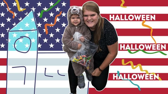 """Winette (21): """"In Amerika vieren we Halloween met de kerk"""""""
