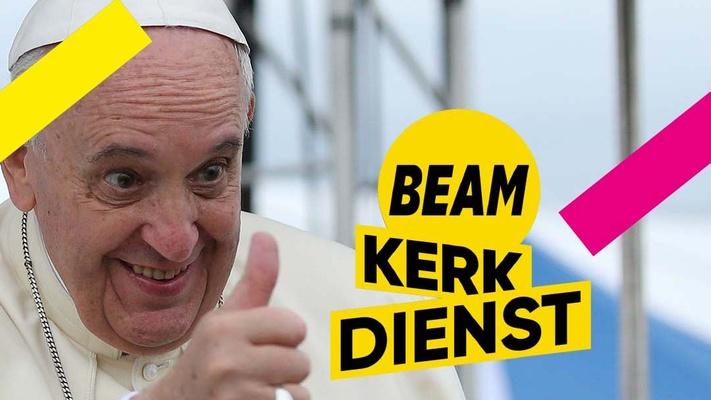 """Paus keurt BEAM Kerkdienst goed: """"Preken moeten niet langer zijn dan tien minuten"""""""