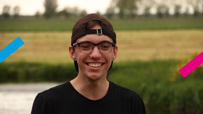Guillaume (19) doet mbo: 'Mensen geven mij het gevoel dat ik beter hbo zou kunnen doen'