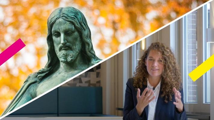 Theoloog Joëlle legt de 3 meest voorkomende afbeeldingen van Jezus uit