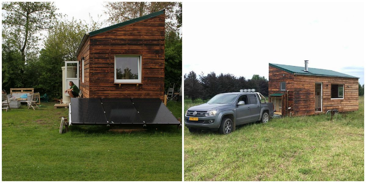 Tiny house van Kjeld en Linde